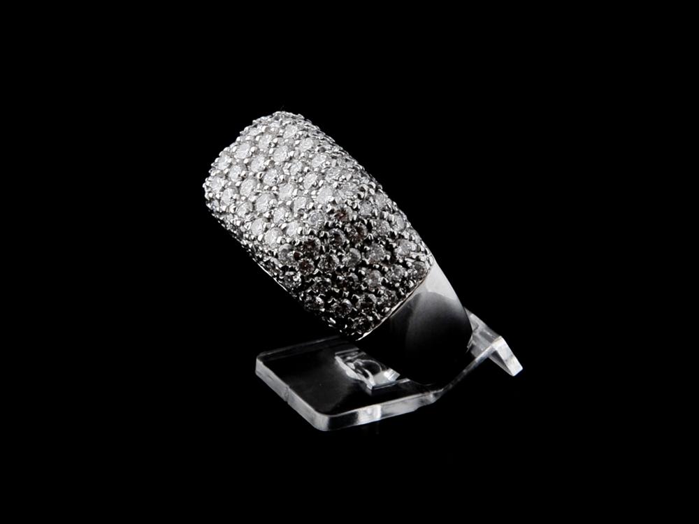 Anel com Diamantes - Ref. 098901-1