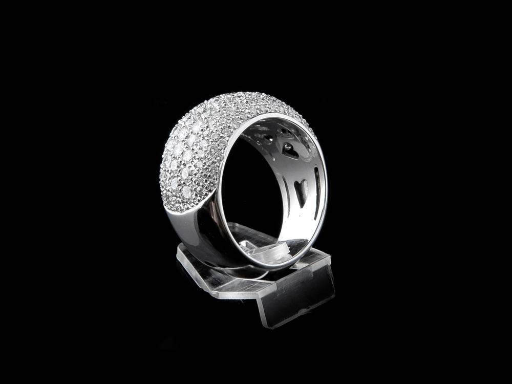 Anel com Diamantes - Ref. 121207-1