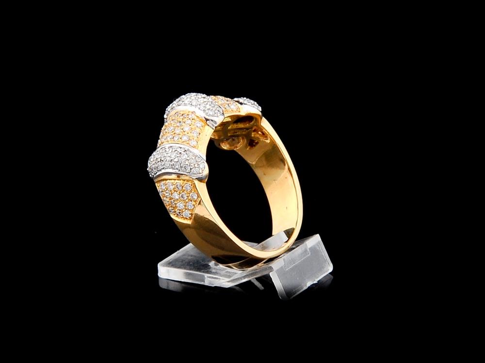 Anel com Diamantes - Ref. 547807-1