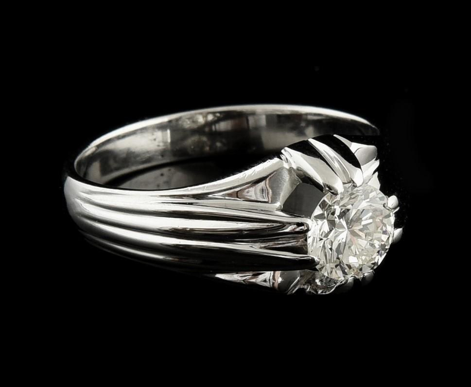Anel com Diamantes - Ref. 663401