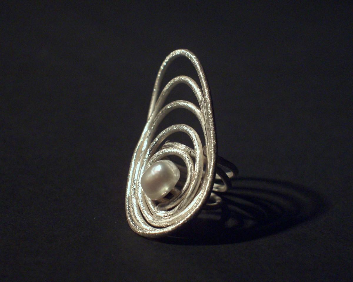 Anel com prata