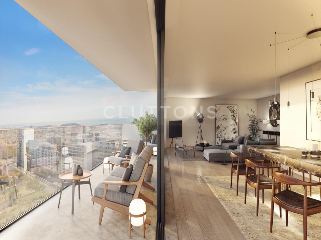 Apartamento T5 de luxo - Amoreiras