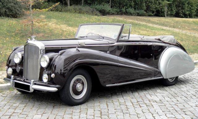 Bentley MK6 Cabriolet Parkward