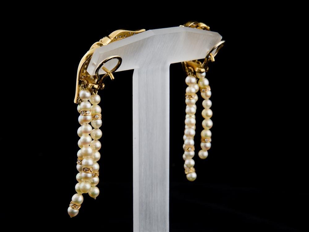 Brincos com Diamantes - Ref. 196601-2