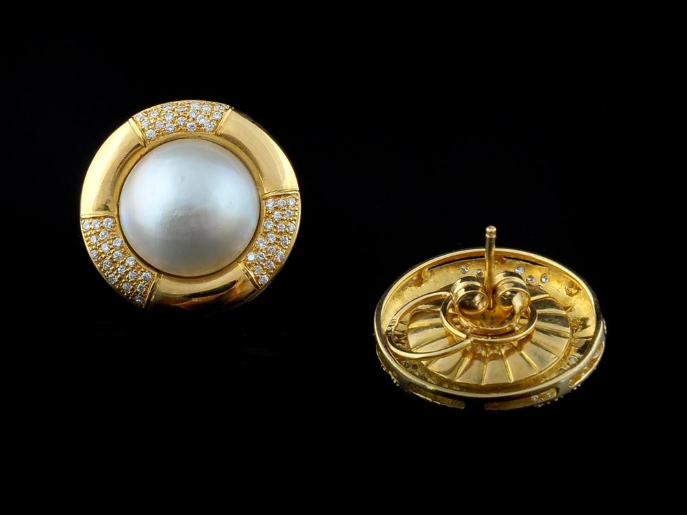 Brincos com Diamantes - Ref. 212902-1