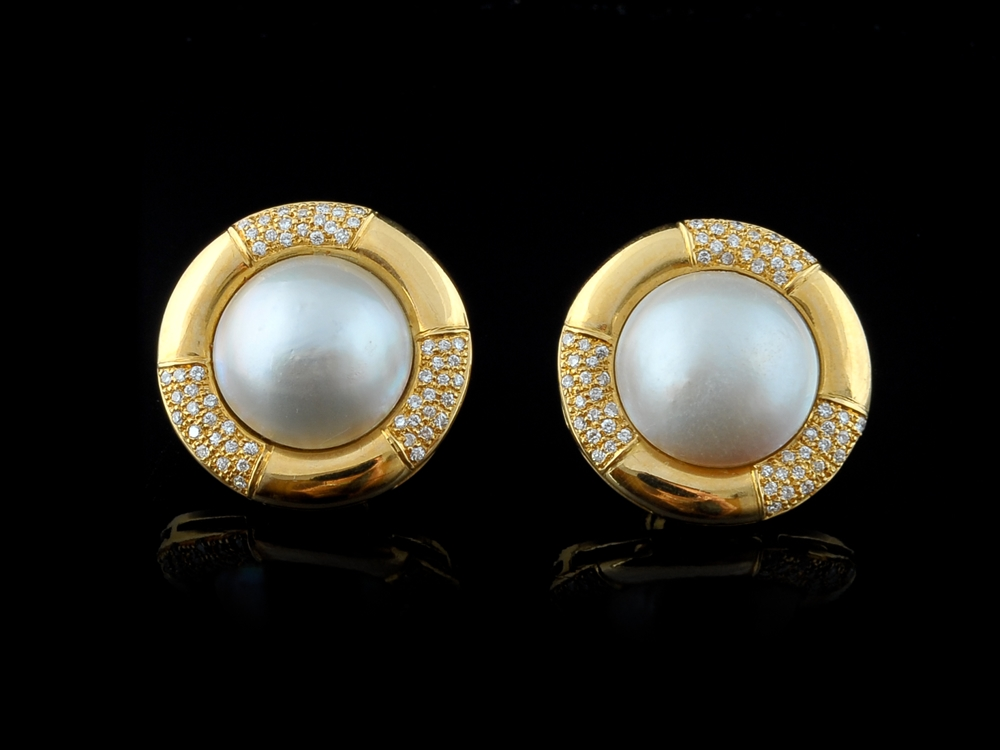 Brincos com Diamantes - Ref. 212902