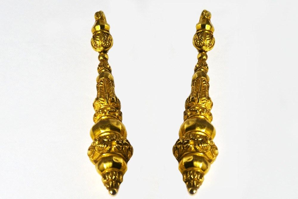 Brincos em ouro - 578/08E