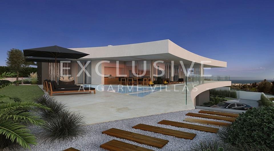 Casas com design contemporâneo com vista para o mar à venda em Luz, _1