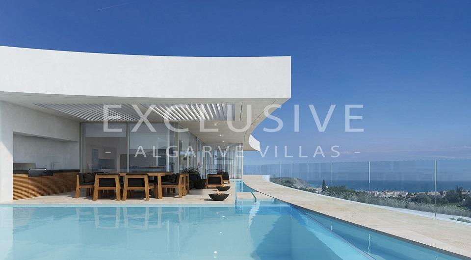 Casas com design contemporâneo com vista para o mar à venda em Luz, _2