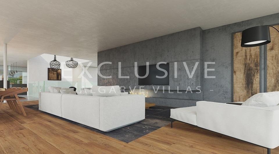 Casas com design contemporâneo com vista para o mar à venda em Luz, _3