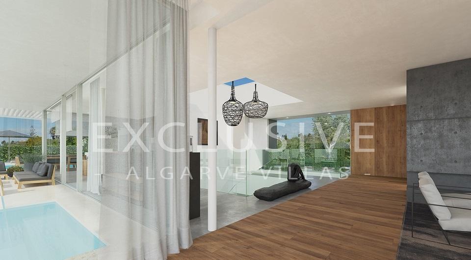 Casas com design contemporâneo com vista para o mar à venda em Luz, _5