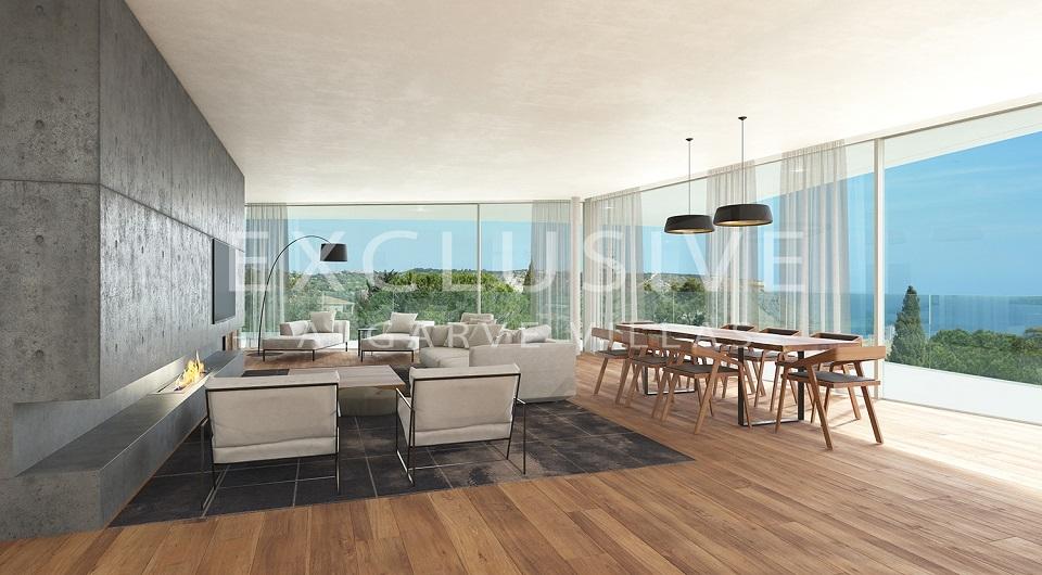 Casas com design contemporâneo com vista para o mar à venda em Luz, _6