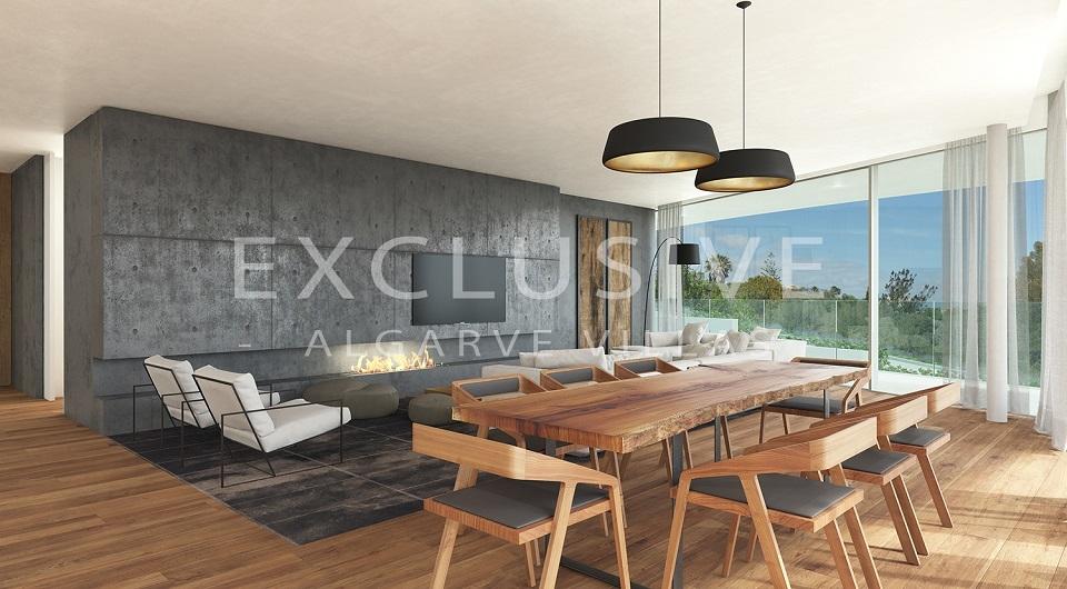 Casas com design contemporâneo com vista para o mar à venda em Luz, _7