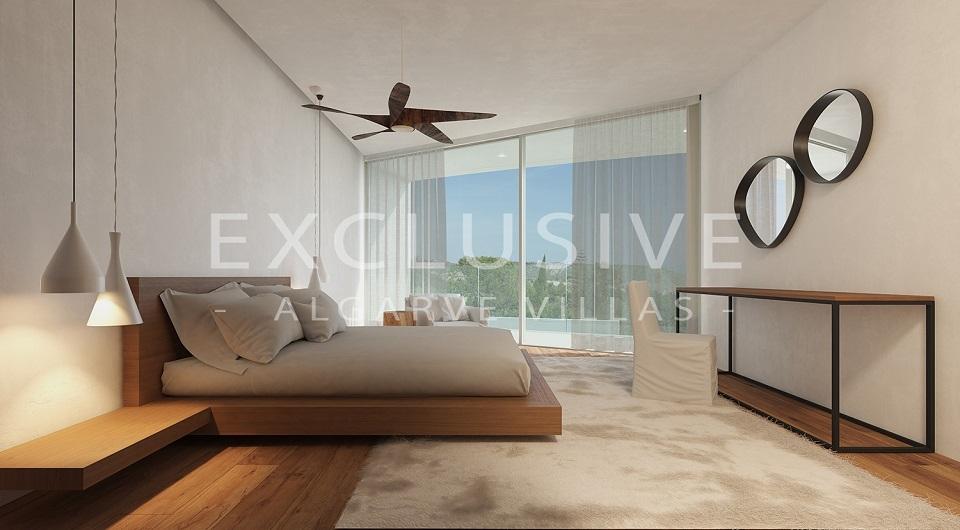 Casas com design contemporâneo com vista para o mar à venda em Luz, _8