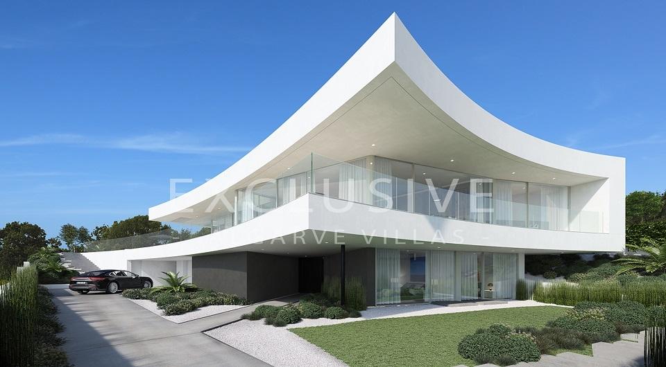 Casas com design contemporâneo com vista para o mar à venda em Luz, _9