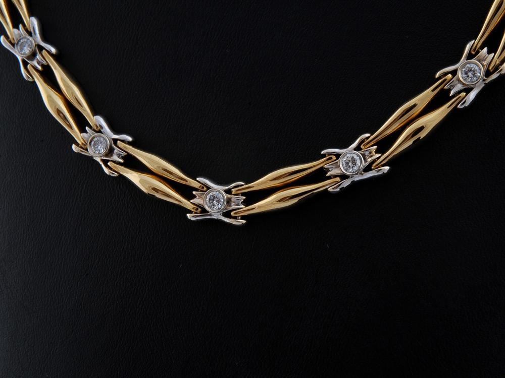 Colar com Diamantes - Ref. 348201-1