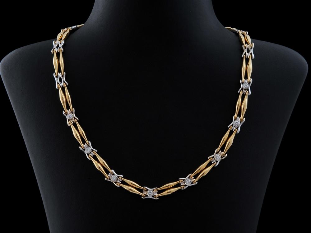 Colar com Diamantes - Ref. 348201