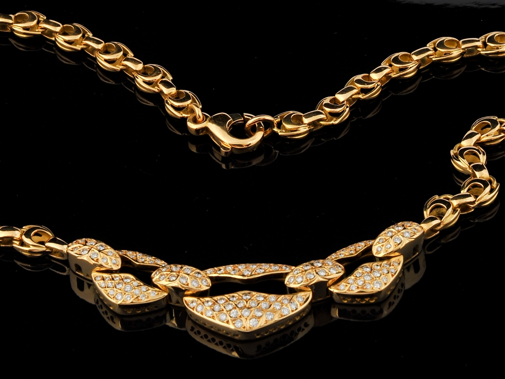 Colar com Diamantes - Ref. 518201-1