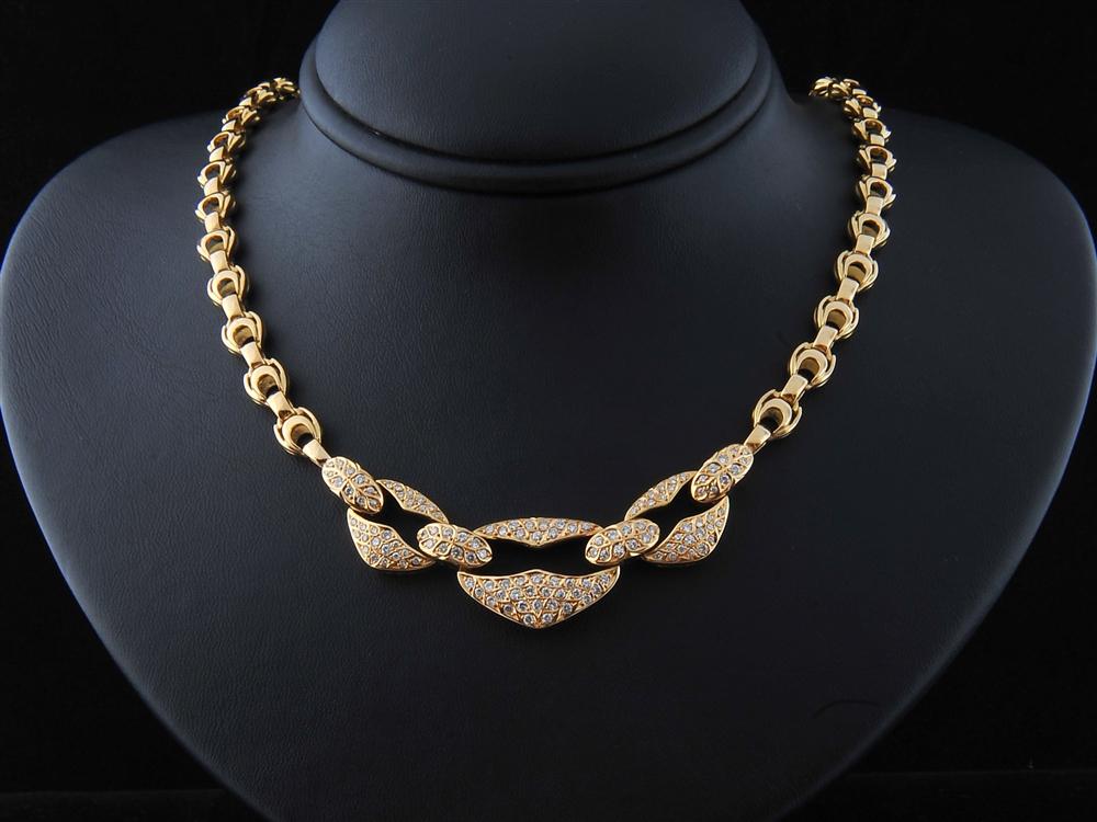Colar com Diamantes - Ref. 518201