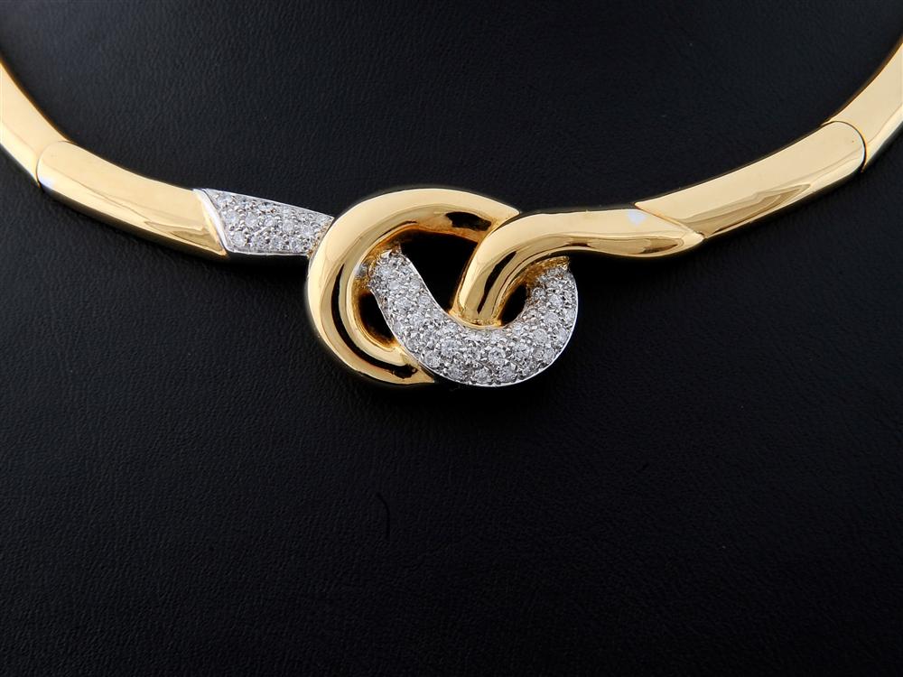 Colar com Diamantes - Ref. 540201-1