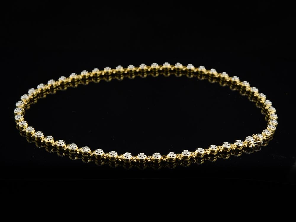 Colar com Diamantes - Ref. 648001-1