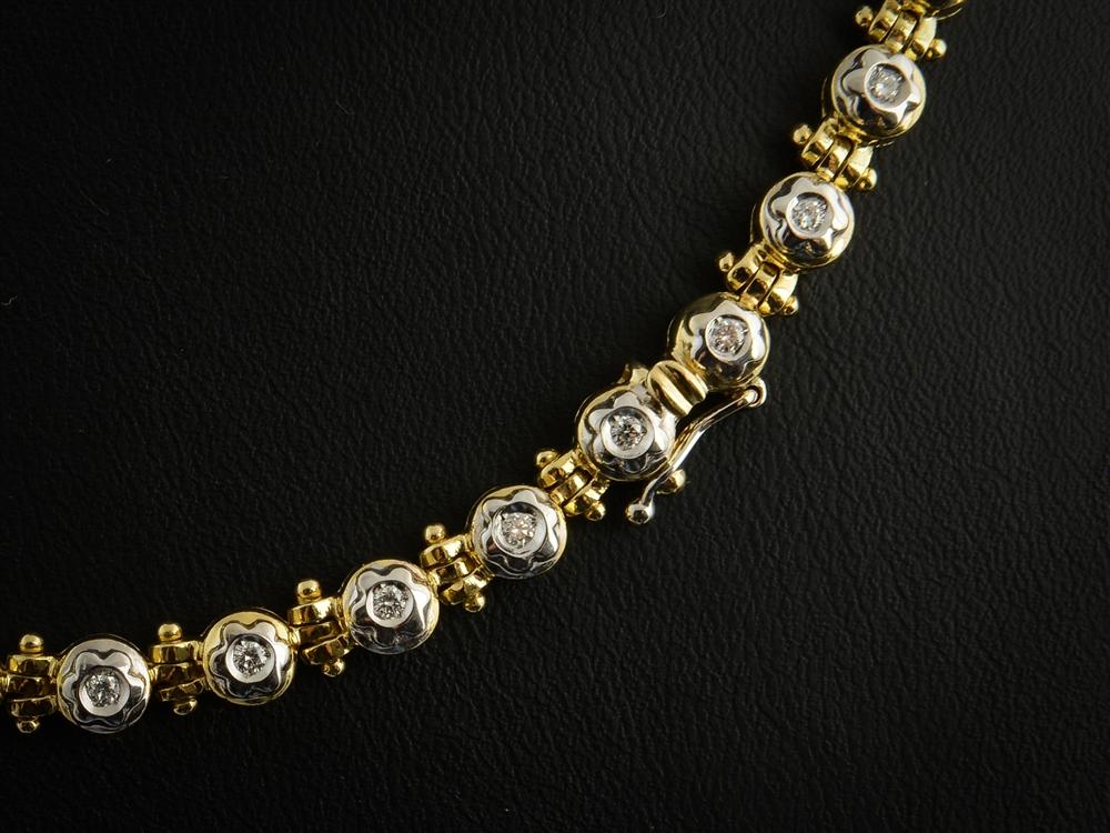 Colar com Diamantes - Ref. 648001-2