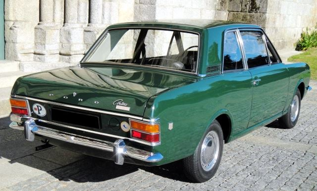 Ford Cortina 1600 GT-3