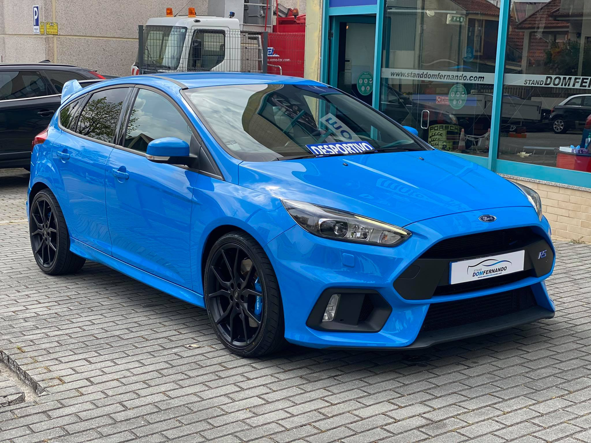Ford Focus RS 2.3 Performace Blue
