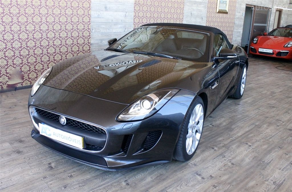 Jaguar F-Type S V6 3.0 Convertible Auto-3