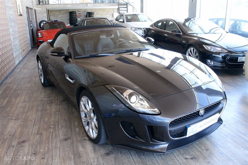 Jaguar F-Type S V6 3.0 Convertible Auto-5