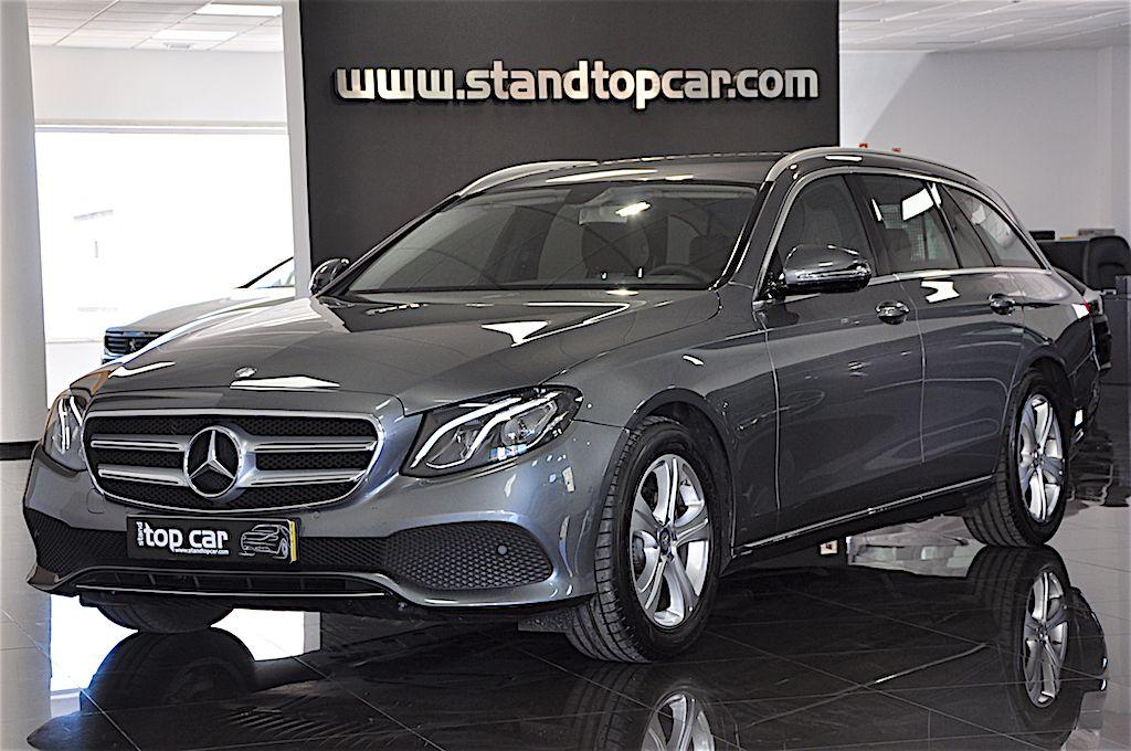 Mercedes Benz E 220 d Station Avantgarde -1