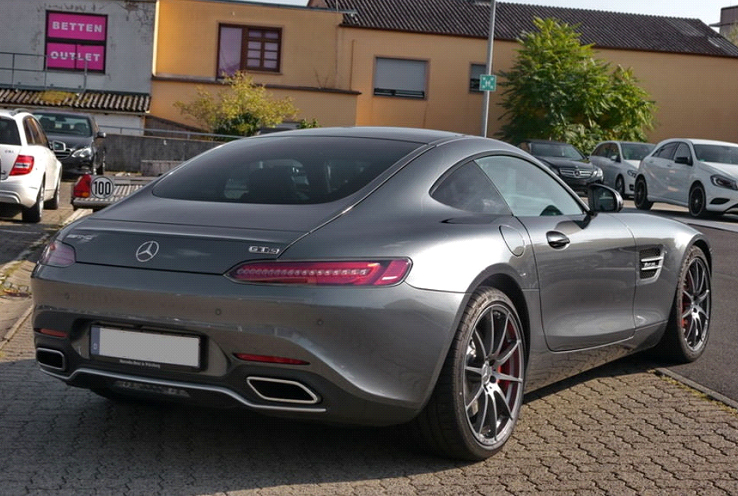 Mercedes-Benz AMG GT S Coupé -3