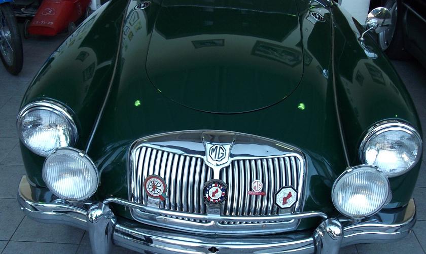 MG MGA 1600 Cabriolet-2