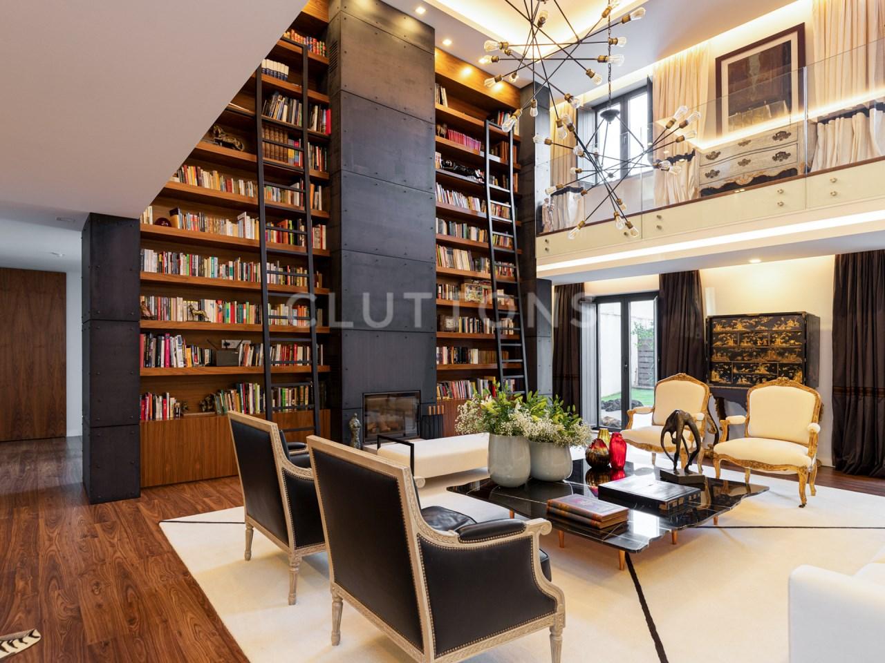 Moradia de luxo 4 suites +1 vista rio