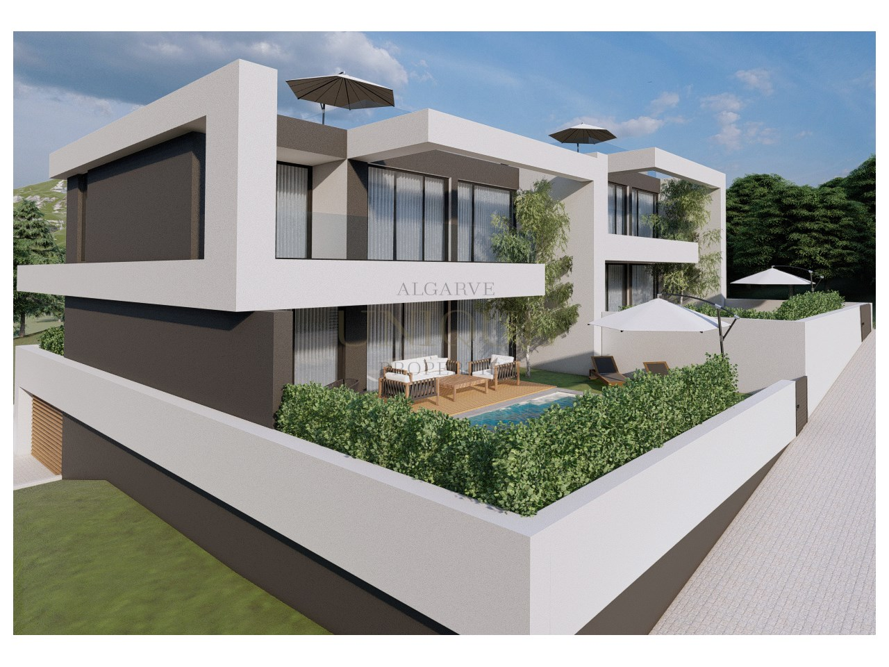Moradia de luxo T3 em construção
