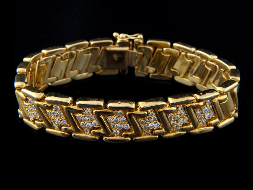Pulseira com Diamantes - Ref. 152901