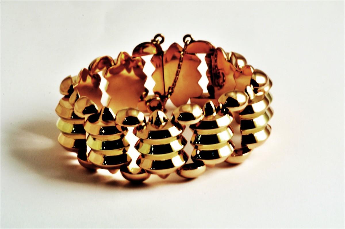 Pulseira em ouro - 235/17E