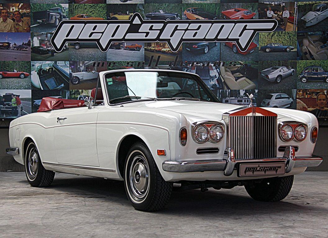 Rolls Royce Corniche Cabrio