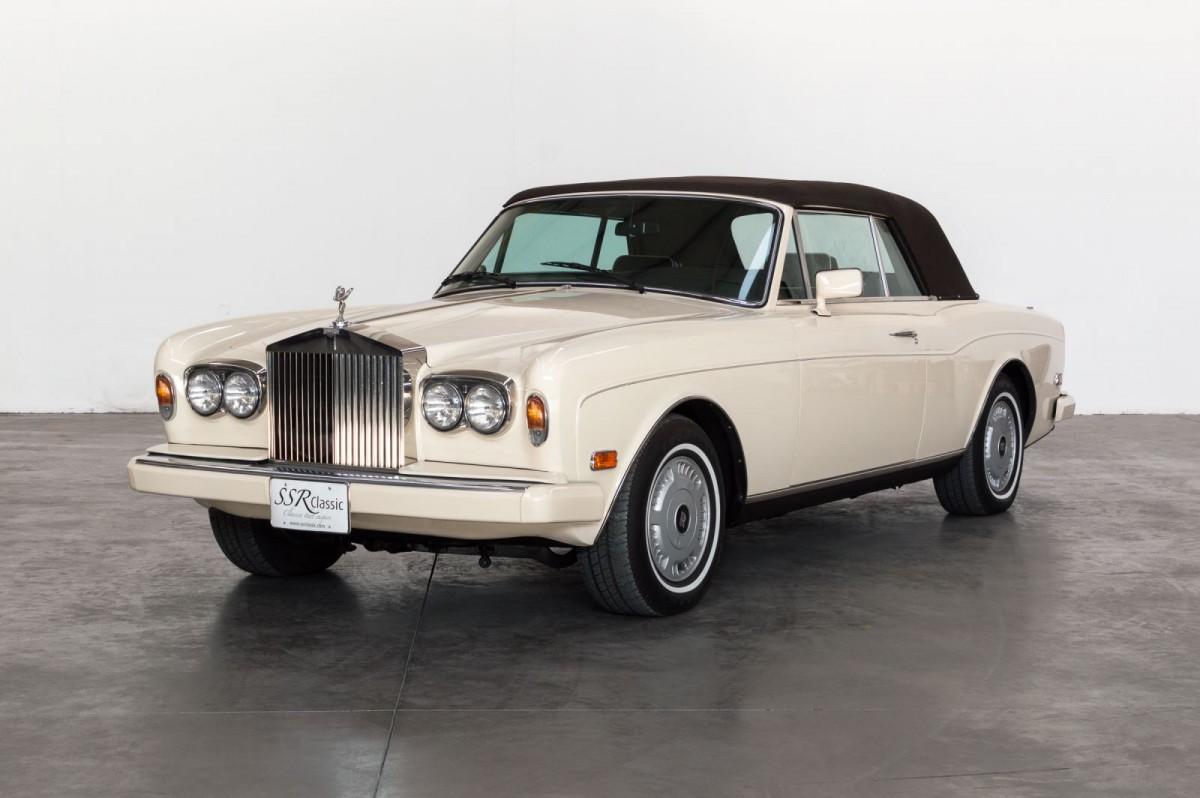 Rolls Royce Corniche II Cabrio