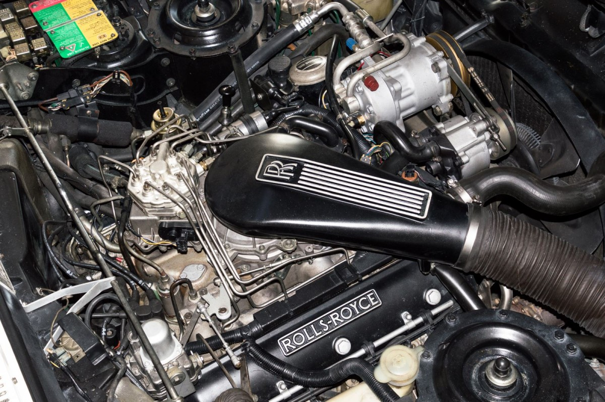 Rolls Royce Corniche III Cabrio-4
