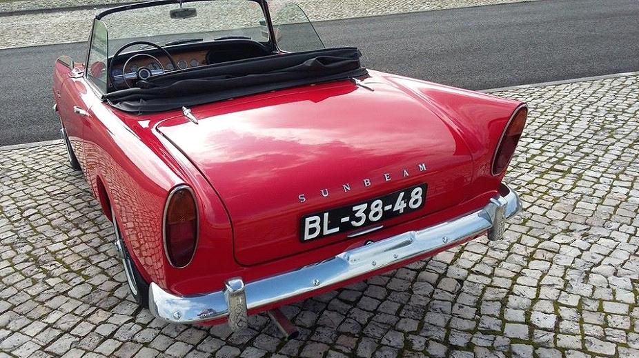 Sunbeam Alpine MK I-4