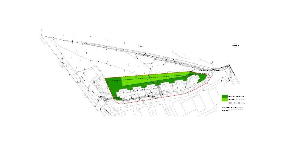Terreno no centro de Lagoa, para a construção de 12 moradias geminad_4