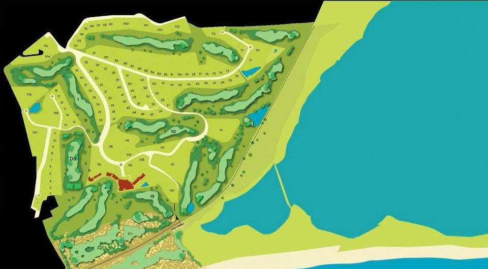 Terreno para venda com vista golfe, Costa Algarvia_2