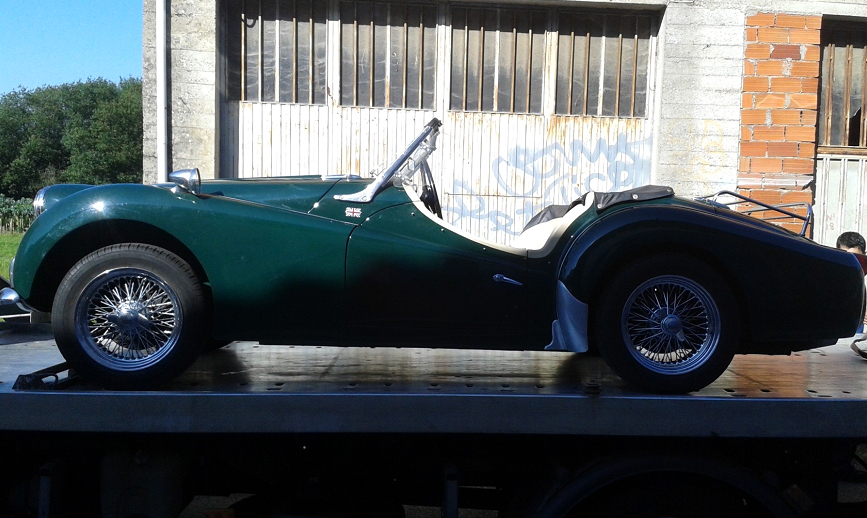 Triumph TR3A roadster-1