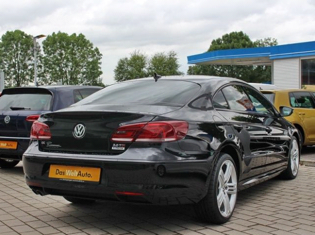 VW CC 2.0 TDI R-line Dynamic Black-1