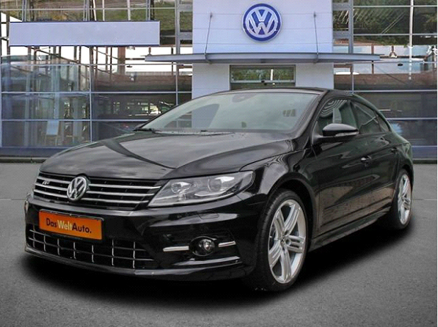VW CC 2.0 TDI R-line Dynamic Black