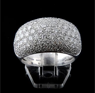 Anel com Diamantes - Ref. 121207