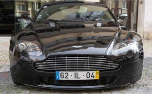 Aston Martin V8 Vantage Coupe