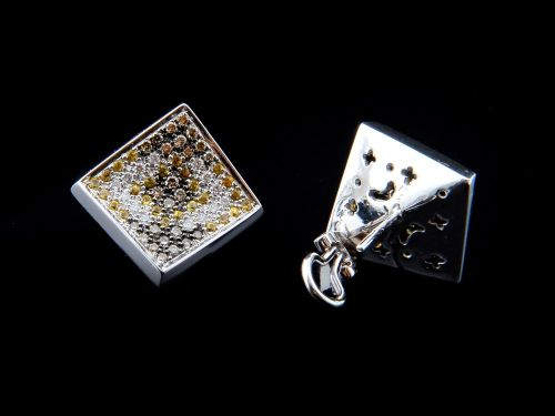 Brincos Com Diamantes - Ref. 507605