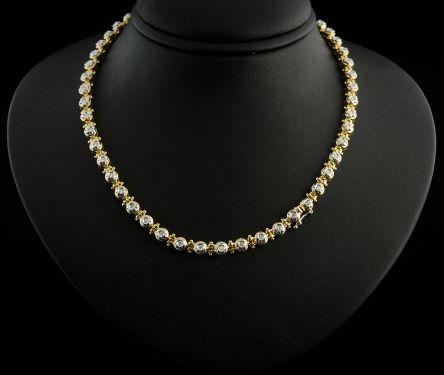 Colar com Diamantes - Ref. 648001